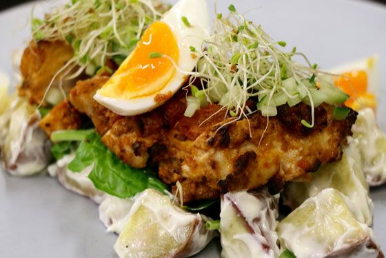 Chicken and Kumara Salad